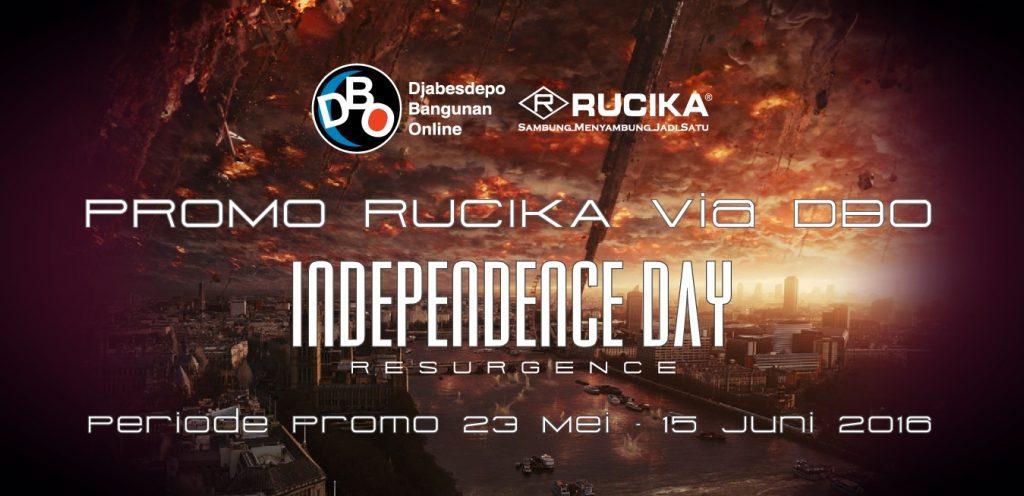 Promo Rucika via DBO, Dapat Tiket Nonton Independence Day: Resurgence