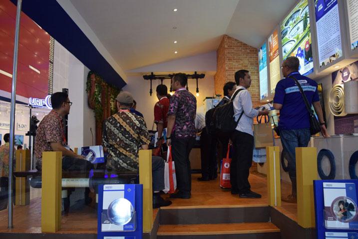Booth Rucika Indowater Expo