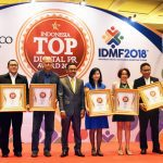 penghargaan Top Digital Public Relation Award 2018 untuk kategori Pipa Air PVC
