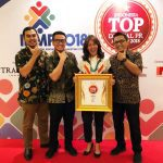 RUCIKA RAIH PENGHARGAAN TOP DIGITAL PUBLIC RELATION AWARD 2018