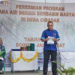 Hendro Sugito selaku Chief of Operation dari PT. Wahana Duta Jaya Rucika