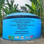 Saluran Air Bersih desa Cibadak