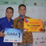 Juara 1 : Arya Akbar Martianto SMKN 1 Jakarta Pusat