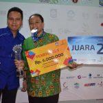 Juara 2 : Neni Rahmawati SMKN 1 Blitar Jawa Timur