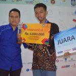 Juara 3 : Ahmad Khoiruddin SMKN 2 Pengasih Wates Kulon Progo DI Yogya