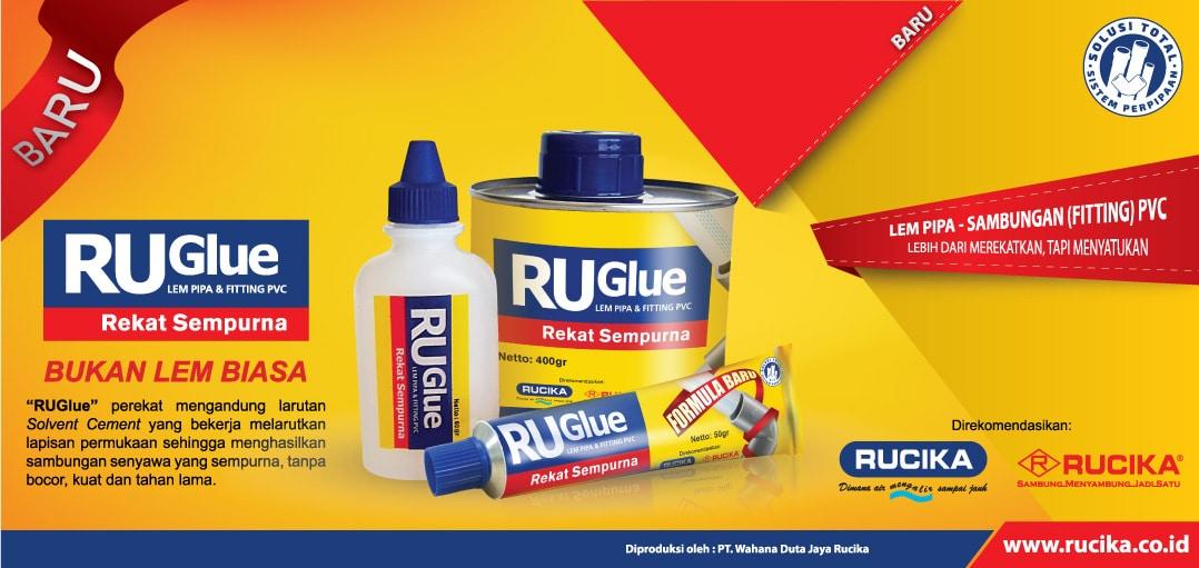 Banner Produk Lem Pipa RuGlue