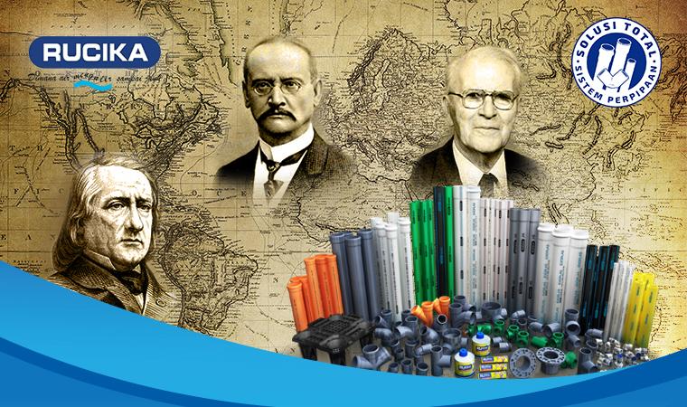 Pipa PVC yang Kita Pakai Sekarang, Sudah Ada Sejak Abad ke-19