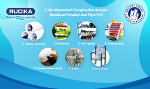 Ide Menambah Penghasilan dengan Membuat Perabot dari Pipa PVC