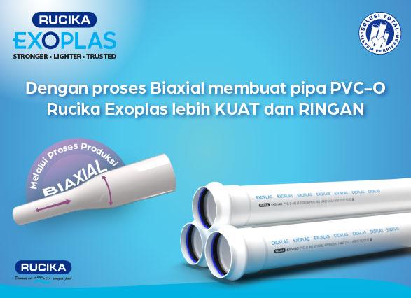 Teknologi Pipa PVC-O dengan Proses Produksi Biaxial