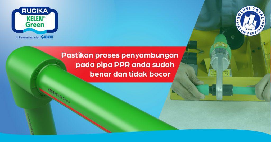 Penyambungan Pipa PP-R