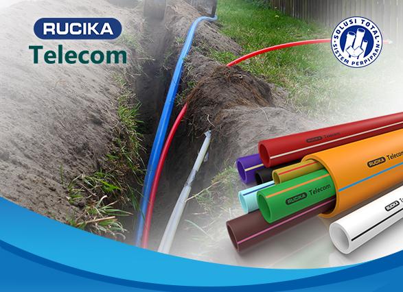 Lindungi Kabel Serat Optik dengan Rucika Telecom