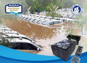 Gunakan Rucika Rainwater System Untuk Penyerapan Air Hujan!