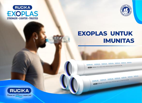 Rucika Exoplas, Distribusikan Air Bersih ditengah Pandemi