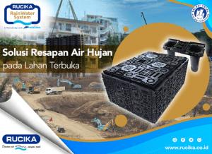 Jaga Keseimbangan Neraca Air dengan Rucika Rain Water System