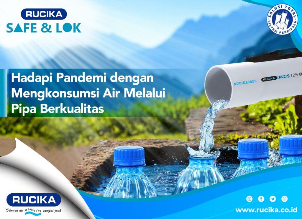 Rucika Safe & lok Untuk Kebutuhan Manufaktur Air Kemasan