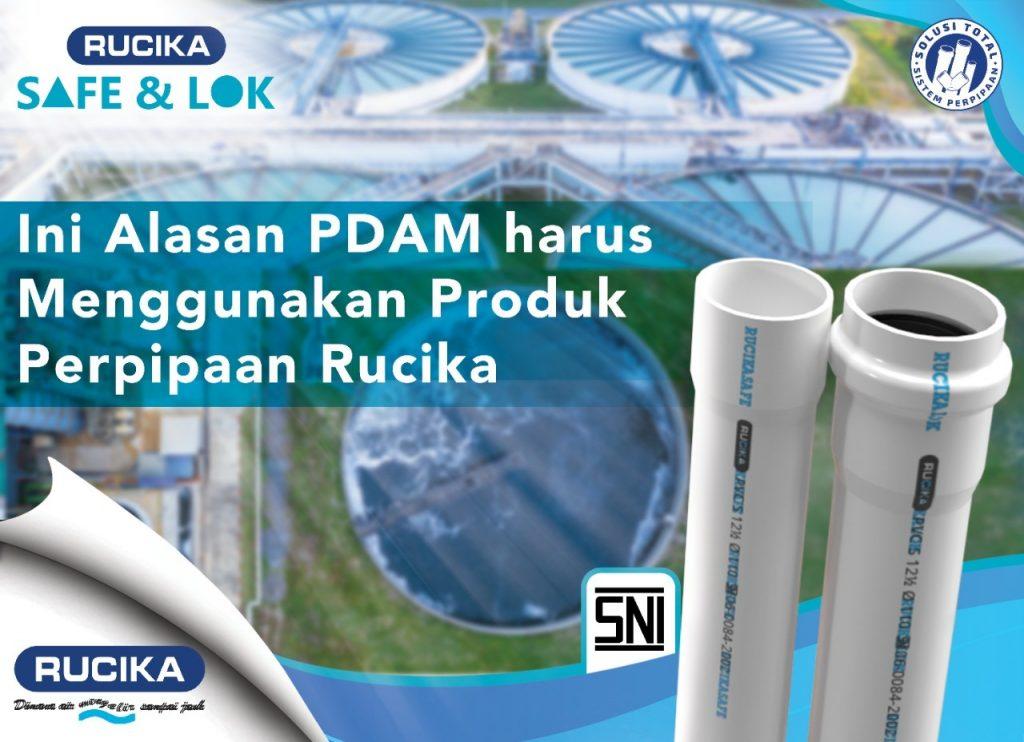 Rucika Safe & Lok Digunakan Pada Berbagai Project PDAM
