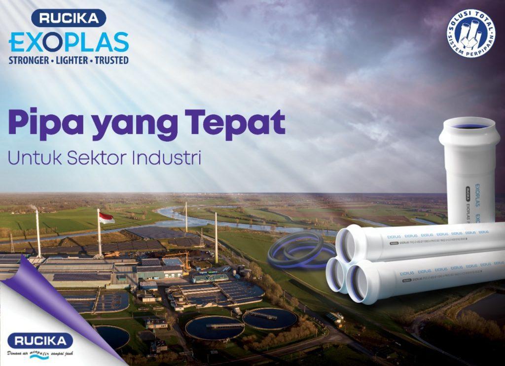 Rucika Exoplas, Sempurnakan Solusi Total Di Sektor Industri
